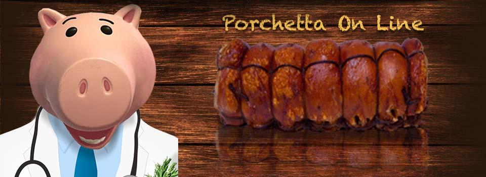 Tronchetto di Porchetta o trancio Tronchetto Porchetta 8 Kg. In offerta