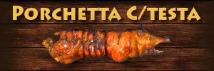 Porchetta di Ariccia Online Porchetta con testa 30 Kg. Porchetta Ariccia online