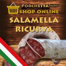 La Salamella ricurva Ariccina
