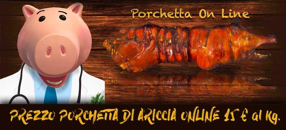 Porchetta di Ariccia online Dove comprare porchetta ariccia