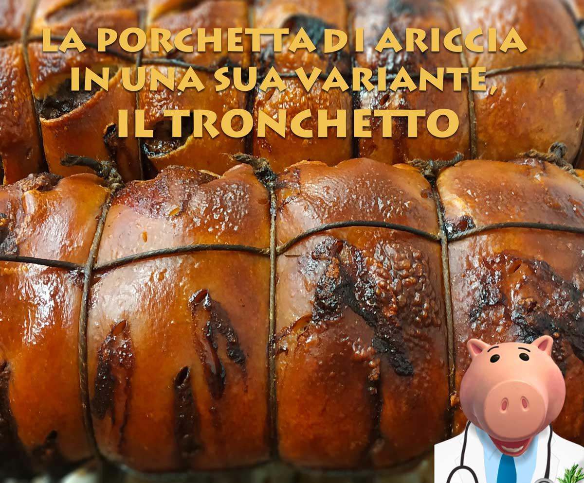 Porchetta di Ariccia tronchetto Porchetta di Ariccia tradizione e innovazione