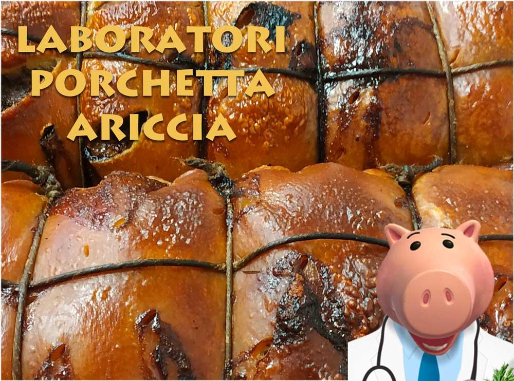 Laboratori porchetta Ariccia